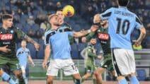 Serie A, le immagini di Lazio-Napoli 1-0