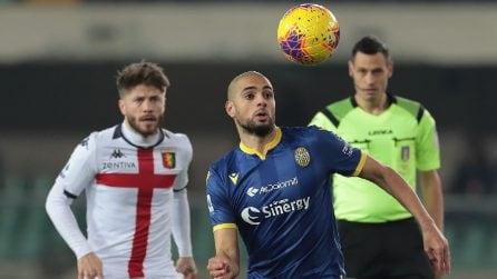 Serie A, le immagini più belle di Hellas Verona-Genoa