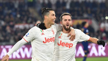 Serie A, le immagini più belle di Roma-Juventus