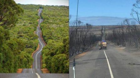 Australia, prima e dopo: le immagini del disastro ambientale