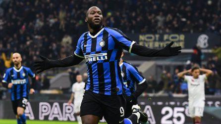 Coppa Italia 2019/2020, le immagini di Inter-Cagliari