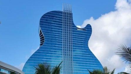 Seminole Hard Rock Hotel, il primo albergo a forma di chitarra del mondo