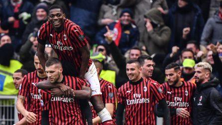 Serie A, le immagini di Milan-Udinese