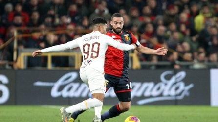 Serie A, le immagini di Genoa-Roma