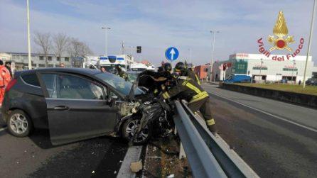 Incidente sulla Vigevanese a Trezzano sul Naviglio: cinque feriti, gravissimo un 12enne