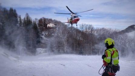 Bloccati sull'orlo del precipizio sul Resegone: tre escursionisti salvati dal vigili del fuoco