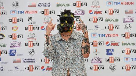 Le maschere di Junior Cally