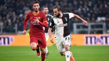 Coppa Italia, le immagini di Juventus-Roma