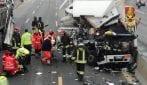 Incidente tra camion sulla A4 all'altezza di Cormano: chiuso un tratto dell'autostrada
