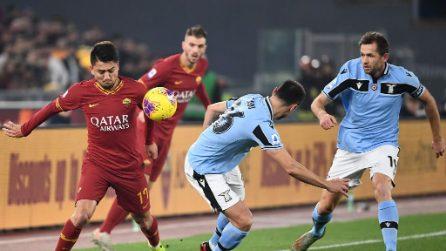 Roma-Lazio Serie A, le immagini del derby