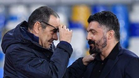 Napoli-Juventus Serie A, le immagini del big match