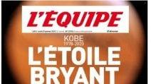 Le prime pagine della stampa sulla morte di Kobe Bryant