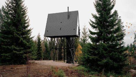 Le case sull'albero che si ispirano ai Mumin