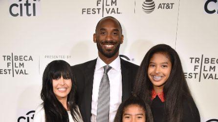 Le foto di Kobe Bryant con la moglie e le figlie