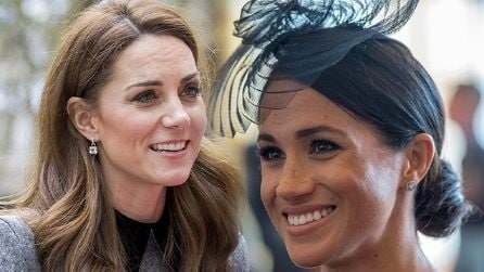 Kate e Meghan, beauty look reali a confronto