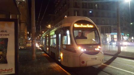 Napoli, torna il tram che collega Poggioreale a piazza Municipio