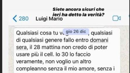 """Nina Moric e le chat private con Luigi Favoloso: """"Sicuri che ha detto la verità?"""""""