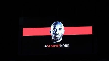 L'omaggio del Milan a Kobe Bryant