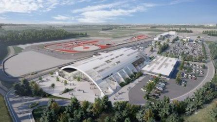 Ecco come sarà il primo Porsche Experience Center d'Italia