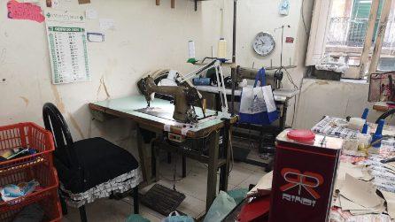 Napoli, scoperta fabbrica di scarpe abusiva nel Rione Sanità