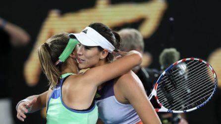 Sofia Kenin vince gli Australian Open, le immagini