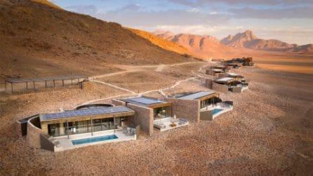 Il resort nel profondo del Namib, il deserto vivente più antico del mondo