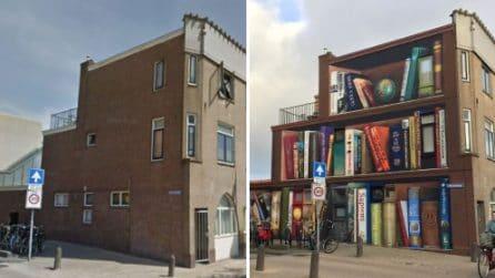 Questo palazzo è stato trasformato in una gigantesca libreria