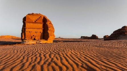 Le installazioni site-sensitive nel deserto dell'Arabia Saudita
