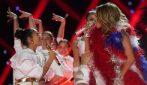 Emme, la figlia di Jennifer Lopez e Marc Anthony sul palco del Super Bowl
