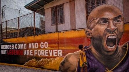 12 murales in memoria di Kobe Bryant nel mondo