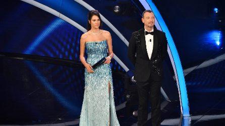 Sanremo 2020, i look di Francesca Sofia Novello