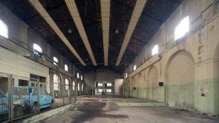 Come era l'ex area industriale di via Ceresio a Milano