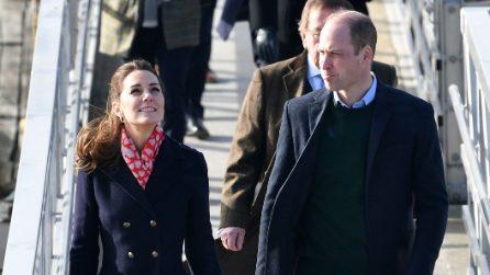 Kate Middleton, la sciarpa con i cuori è perfetta per San Valentino