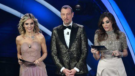 I look della seconda serata di Sanremo 2020