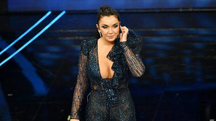 I look di Elettra Lamborghini a Sanremo 2020