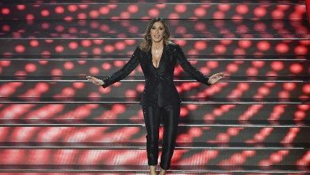 I look di Sabrina Salerno a Sanremo 2020