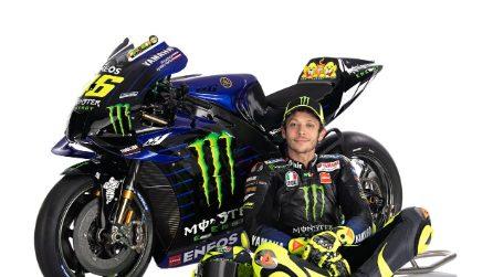 MotoGP, Valentino Rossi: le foto ufficiali con la Yamaha 2020