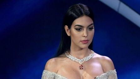 Georgina Rodriguez, i gioielli preziosi indossati a Sanremo
