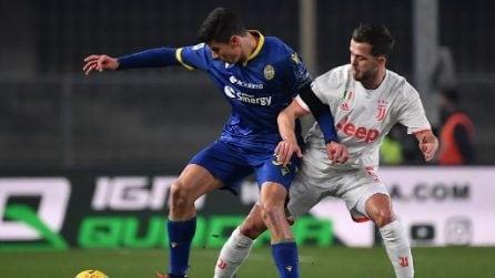 Verona-Juventus Serie A, le immagini della partita