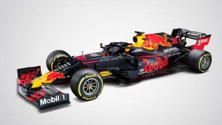 F1 2020, le foto ufficiali della nuova Red Bull di Verstappen e Albon