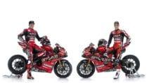SBK, le prime foto ufficiali delle Ducati Panigale di Redding e Davies