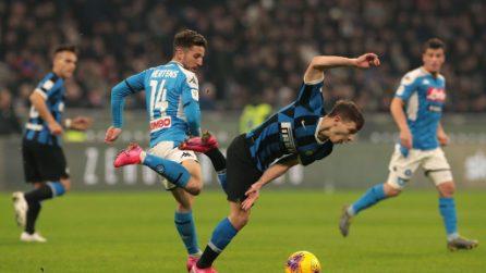 Coppa Italia, le immagini di Inter-Napoli