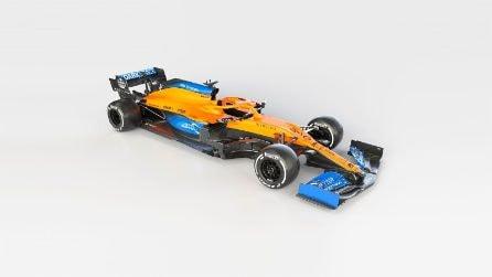 F1, le foto ufficiali della McLaren MCL35