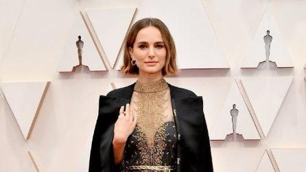 Natalie Portman indossa i nomi delle registe escluse sul red carpet degli Oscar 2020
