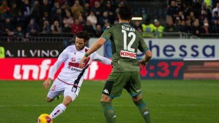 Serie A 19-20, le immagini di Cagliari-Napoli