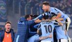 Serie A 2019/2020, le immagini di Lazio-Inter
