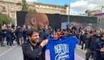 Napoli, la Nazionale italiana di basket visita il campo dedicato a Kobe Bryant