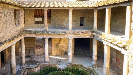 Pompei, le meravigliose immagini della Casa degli Amanti riaperta dopo 40 anni