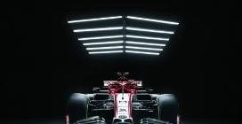 F1, ecco l'Alfa Romeo Orlen di Raikkonen e Giovinazzi
