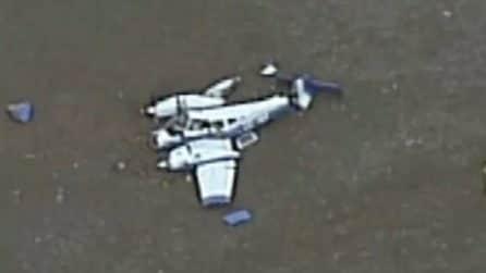 Due aerei si scontrano in volo in Autralia: quattro morti